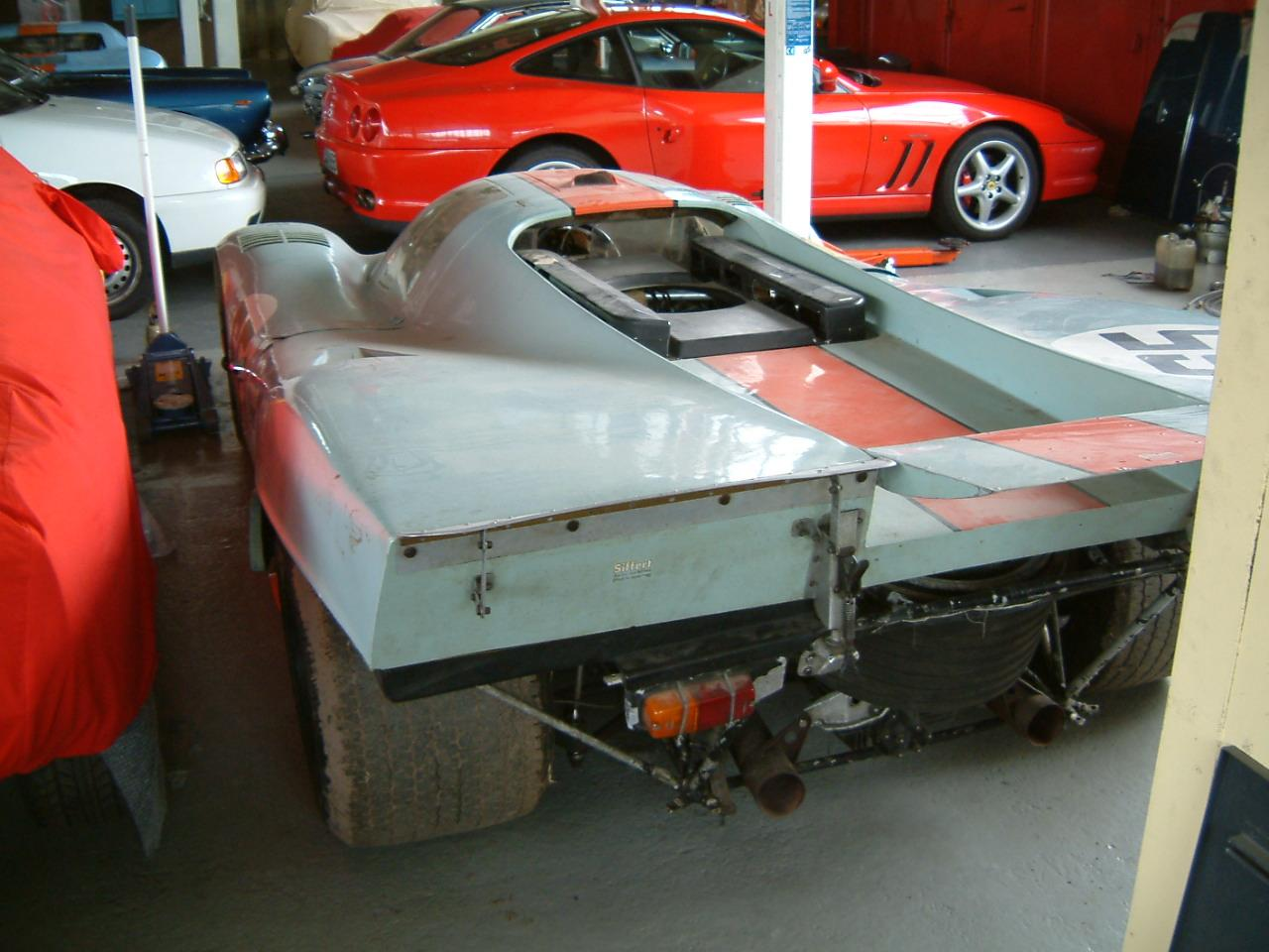 porsche 917 miscelaneas un 917 en un granero. Black Bedroom Furniture Sets. Home Design Ideas